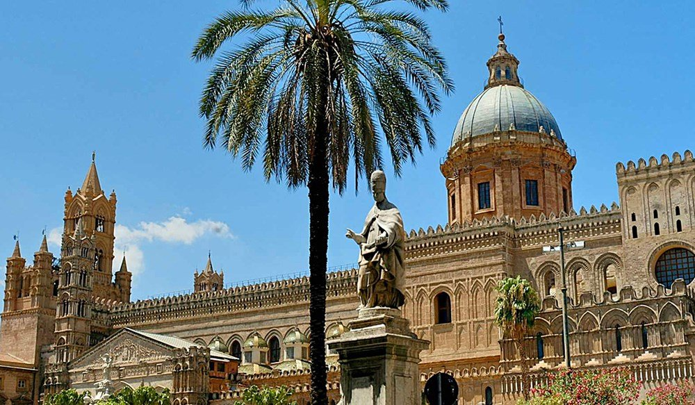 Palermo background shot