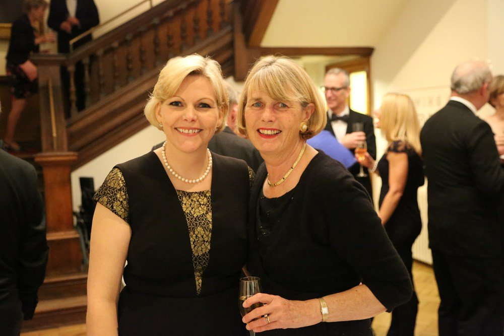 Stephanie Barwick, Chief Executive of the PVRI and Lynette Swift, Chair of Fundraising